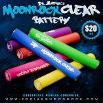Dr Zodiak Moonrock Clear Batteries
